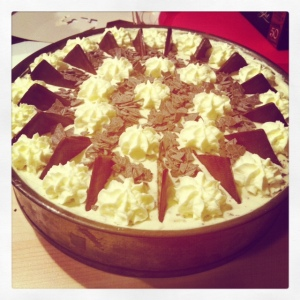 Cream Cheese After Eight Cake