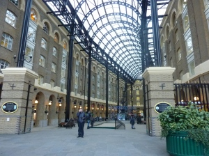 Hay's Galleria - Our not so little shelter from the cold